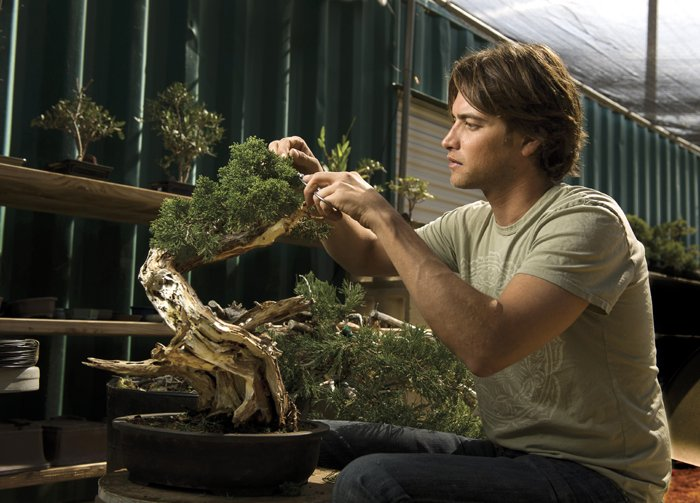 Travis Goldstein California Bonsai Studio (photo credit: beyondtheacorn.net)